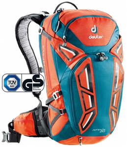 Рюкзак Deuter Attack 20 (papaya-petrol)