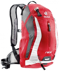 Велорюкзак Deuter Race (fire-white)