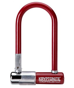 Замок велосипедный Kryptonite U-locks KryptoLok Series 2 Mini-7 (MERLOT)