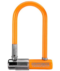 Замок велосипедный Kryptonite U-locks KryptoLok Series 2 Mini-7 (ORANGE)