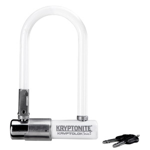 Замок велосипедный Kryptonite U-locks KryptoLok Series 2 Mini-7 (WHITE)
